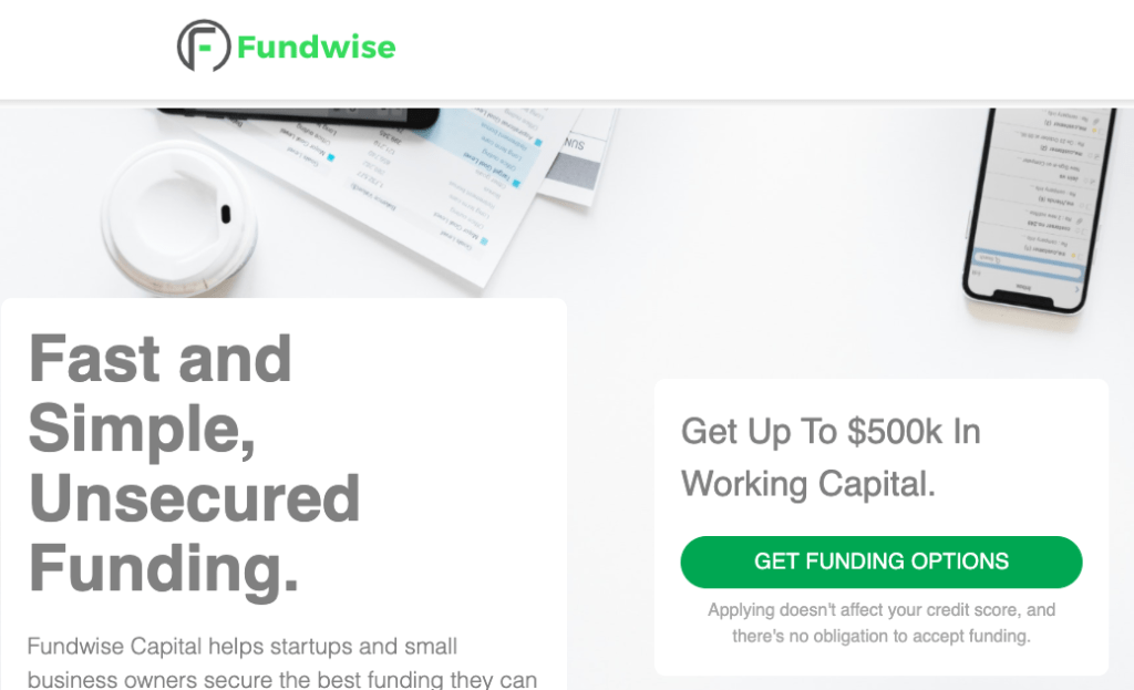 Fundwise Capital-USA Funding Pros-Get the best business funding available for your business, start up or investment. 0% APR credit lines and credit line available. Unsecured lines of credit up to 200K. Quick approval and funding.